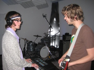 Dove & Heavy recording Vampire Campfire